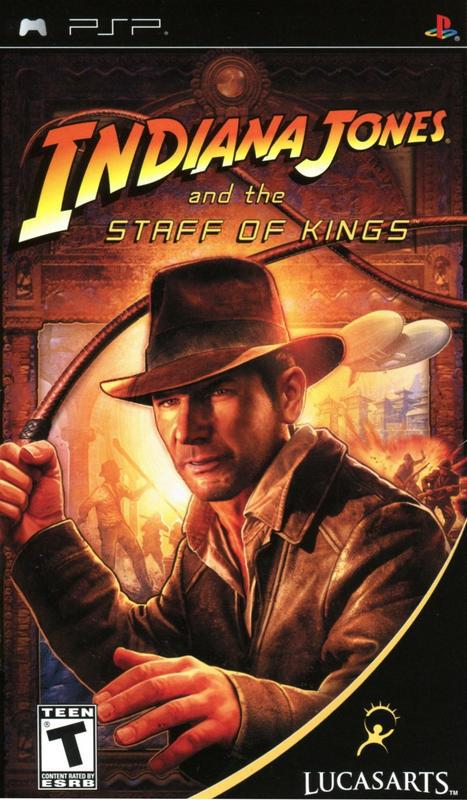 Indiana Jones and the Staff of Kings - PlayStation Portable