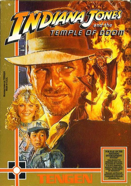 Indiana Jones and the Temple of Doom - Nintendo Entertainment System