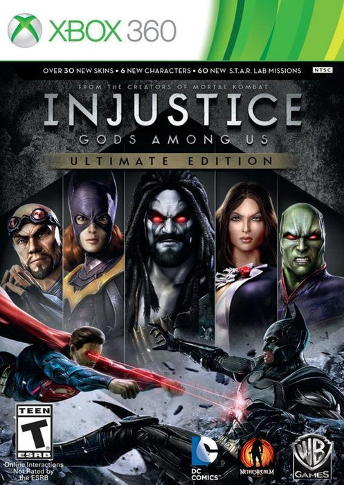 Injustice Gods Among Us - Ultimate Edition - Xbox 360