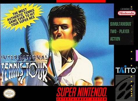 International Tennis Tour - Super Nintendo Entertainment System