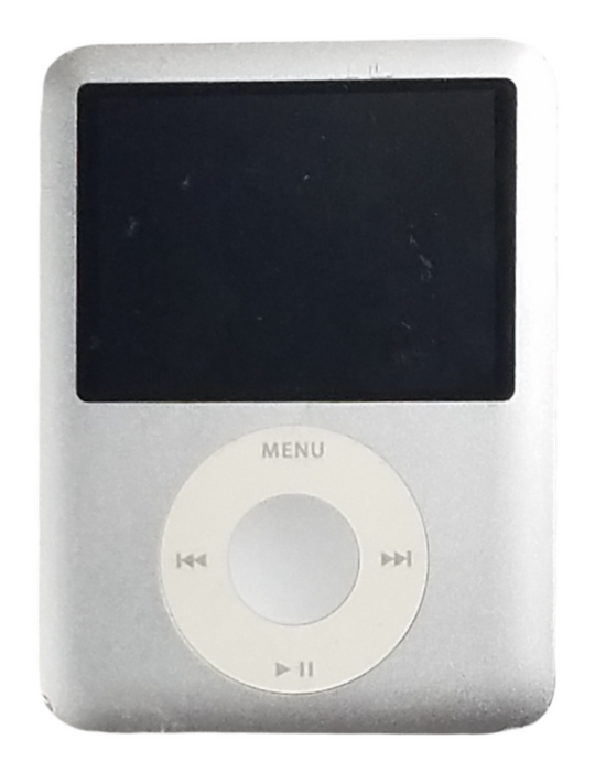 Apple Ipod Nano 3rd Generation 4gb MP3 MP4 Player – Silver