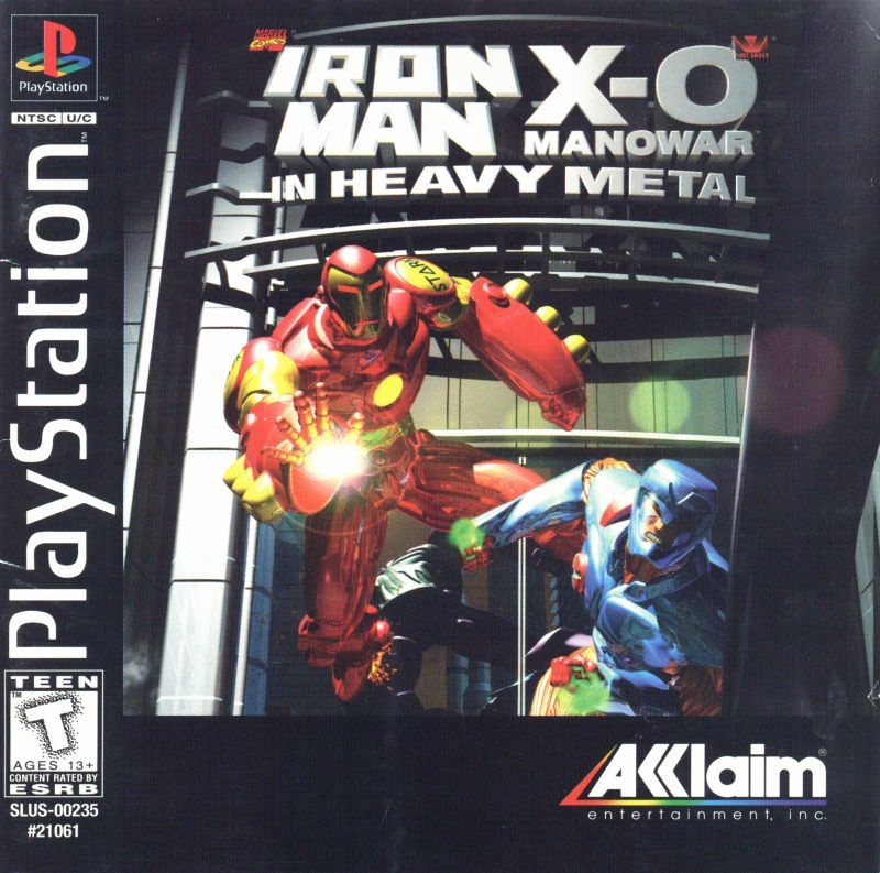 Iron Man and X-O Manowar in Heavy Metal - PlayStation 1