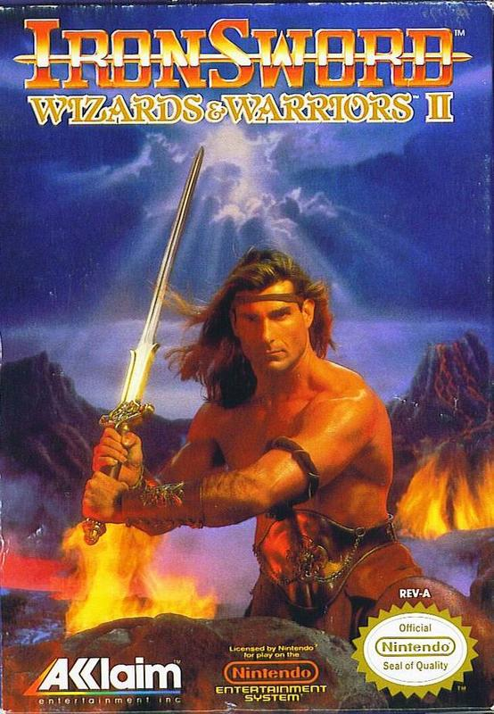 IronSword Wizards & Warriors II - Nintendo Entertainment System