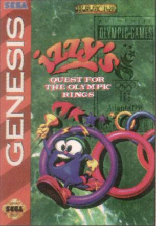 Izzys Quest for the Olympic Rings - Sega Genesis