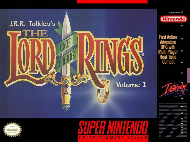J.R.R. Tolkiens The Lord of the Rings Volume 1 - Super Nintendo Entertainment System