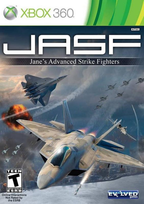 JASF Janes Advanced Strike Fighters - Xbox 360