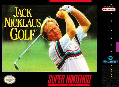 Jack Nicklaus Golf - Super Nintendo Entertainment System