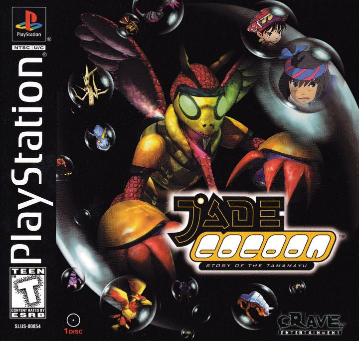 Jade Cocoon Story of the Tamamayu - PlayStation 1