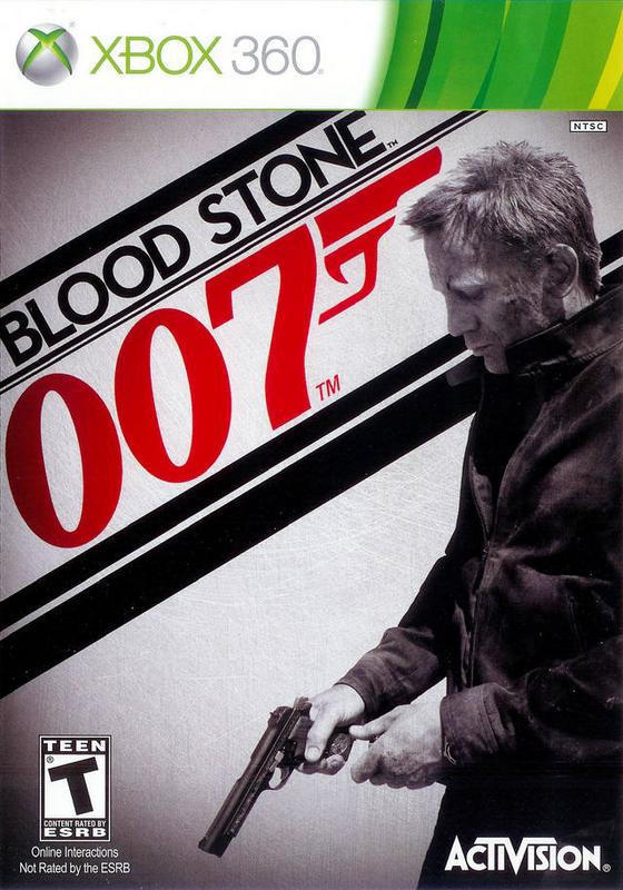 James Bond 007 Blood Stone - Xbox 360