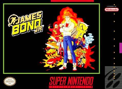 James Bond Jr. - Super Nintendo Entertainment System