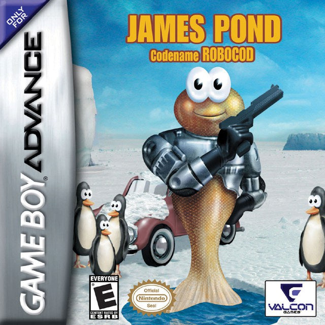 James Pond Codename Robocod - Game Boy Advance