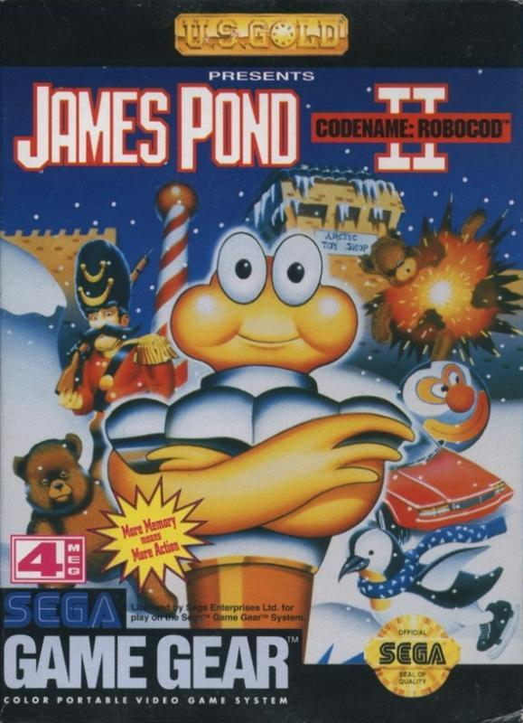 James Pond II Codename RoboCod - Sega Game Gear