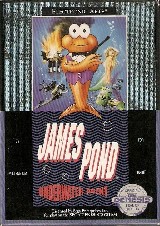 James Pond Underwater Agent - Sega Genesis