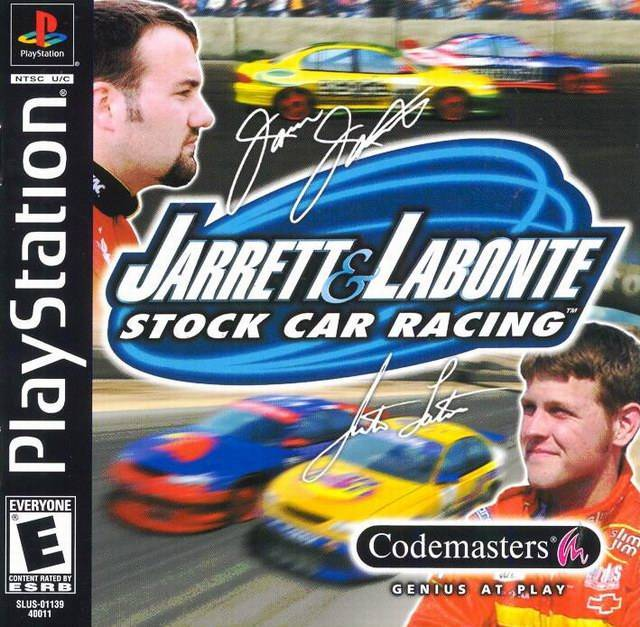 Jarrett Labonte Sotck Car Racing - PlayStation 1