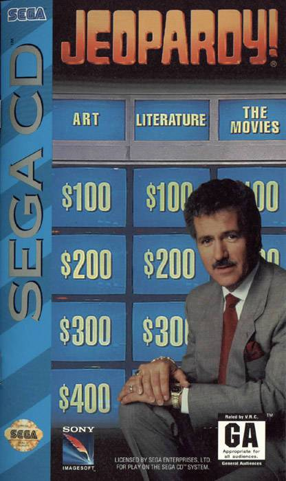 Jeopardy! - Sega CD