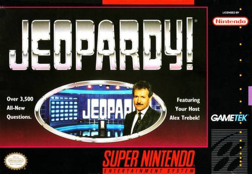 Jeopardy! - Super Nintendo Entertainment System