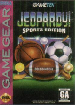 Jeopardy! Sports Edition - Sega Game Gear