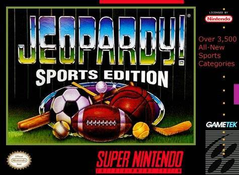 Jeopardy! Sports Edition - Super Nintendo Entertainment System