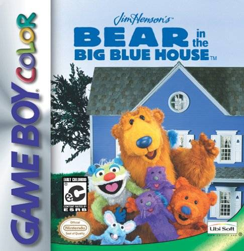 Jim Hensons Bear in the Big Blue House - Game Boy Color