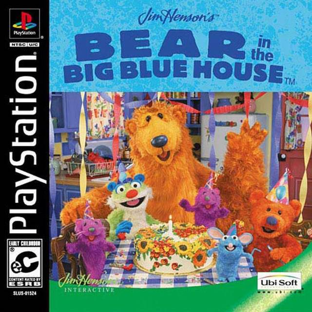 Jim Hensons Bear in the Big Blue House - PlayStation 1