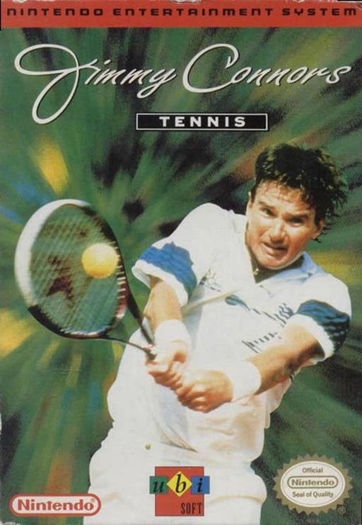 Jimmy Connors Tennis - Nintendo Entertainment System