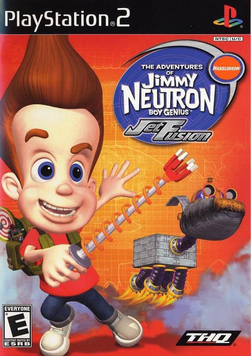 Jimmy Neutron Boy Genius Jet Fusion - PlayStation 2