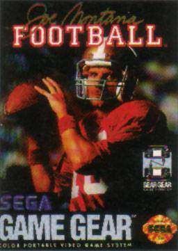 Joe Montana Football - Sega Game Gear