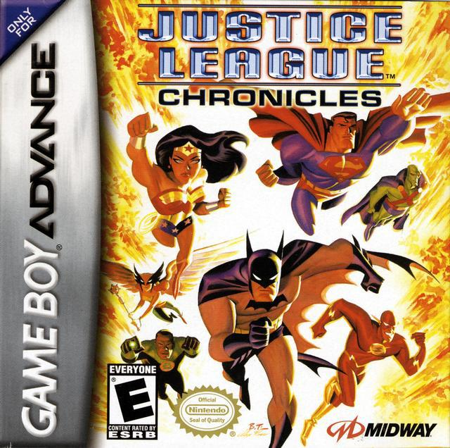 Justice League Chronicles - Game Boy Advance