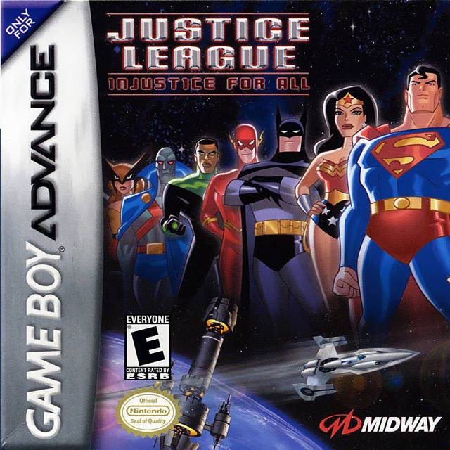 Justice League Injustice for All - Game Boy Advance