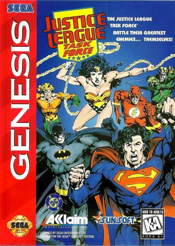Justice League Task Force - Sega Genesis