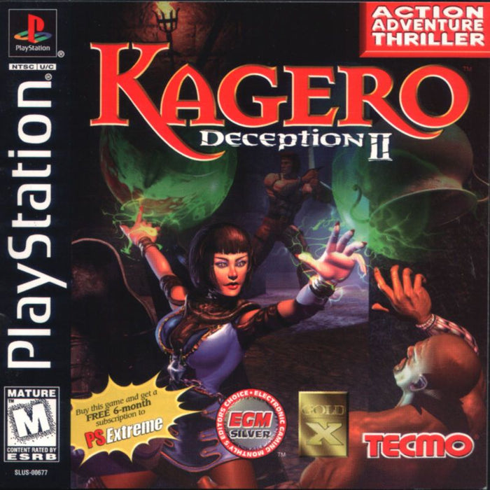 Kagero Deception 2 - PlayStation 1