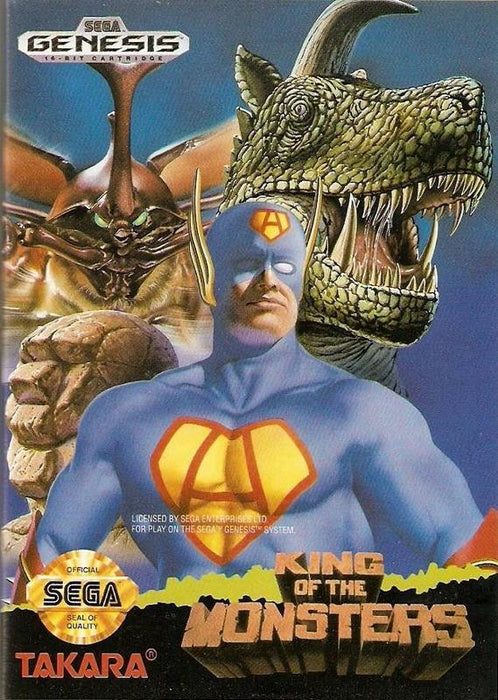 King of the Monsters - Sega Genesis