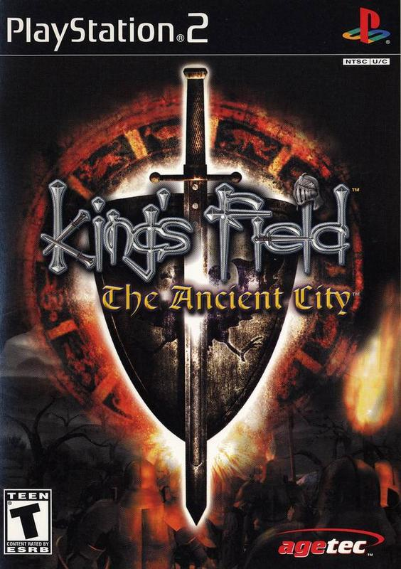 Kings Field IV The Ancient City - PlayStation 2