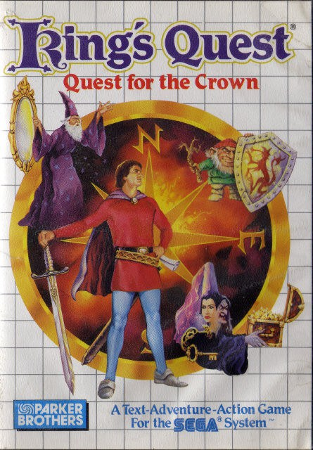 Kings Quest Quest for the Crown - Sega Master System