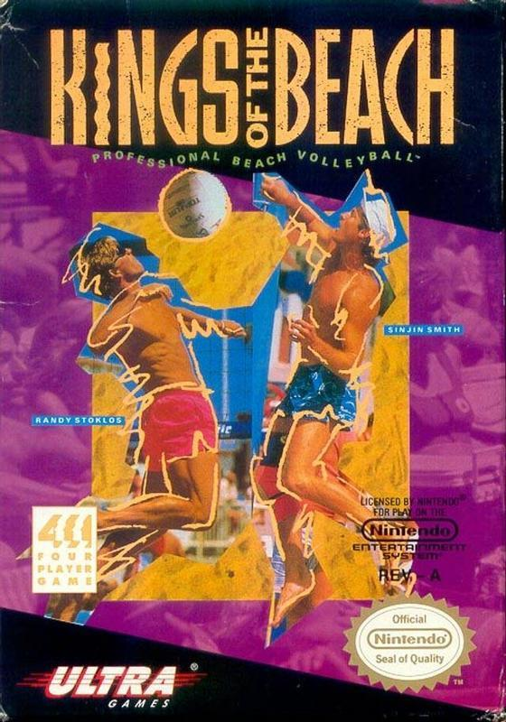 Kings of the Beach - Nintendo Entertainment System