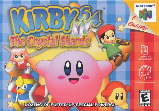 Kirby 64 The Crystal Shards - Nintendo 64