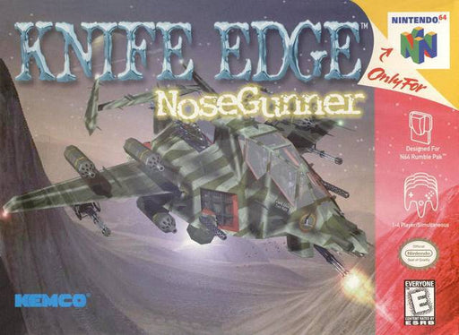 Knife Edge Nose Gunner - Nintendo 64