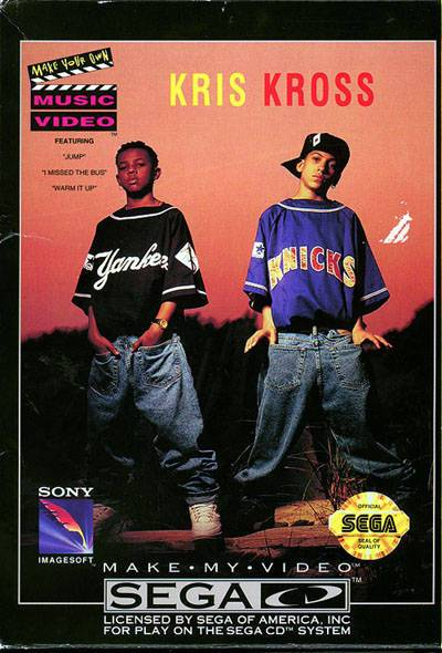 Kris Kross Make My Video - Sega CD