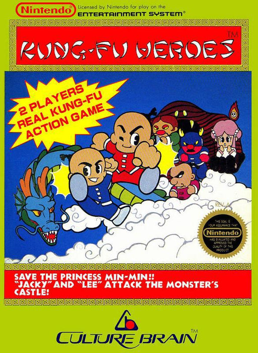 Kung-Fu Heroes - Nintendo Entertainment System