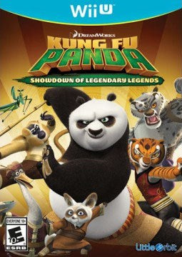 Kung Fu Panda Showdown of Legendary Legends - Wii U
