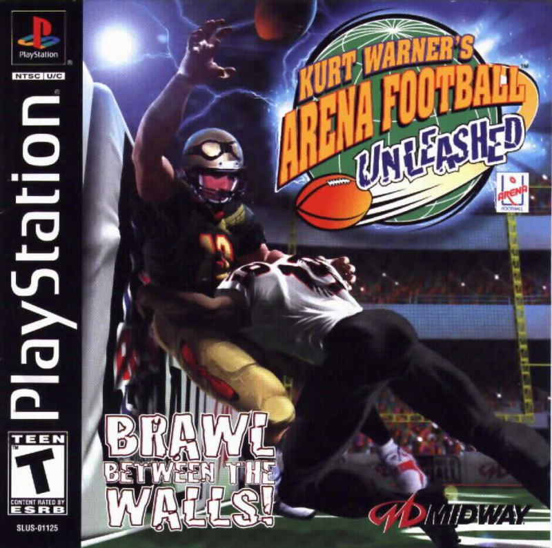 Kurt Warners Arena Football Unleashed - PlayStation 1