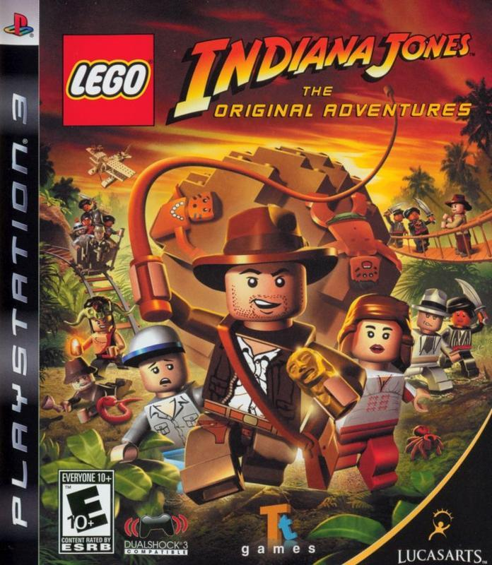 LEGO Indiana Jones The Original Adventures - PlayStation 3