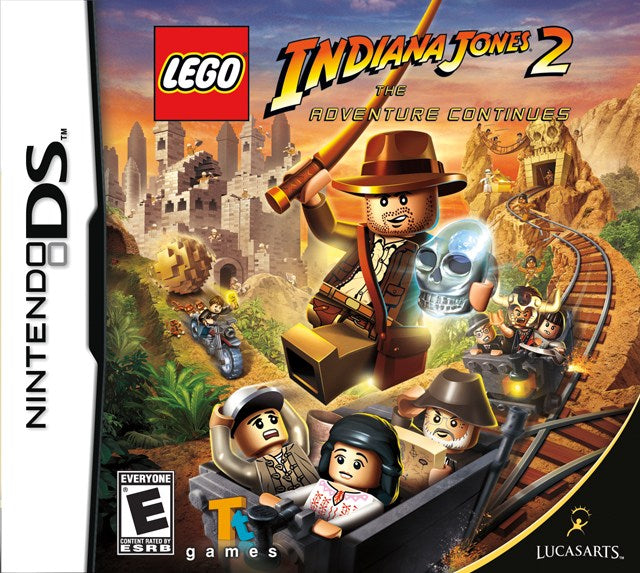 LEGO Indiana Jones 2 The Adventure Continues - Nintendo DS