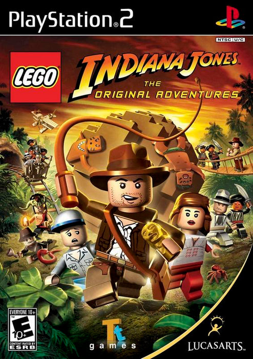 Lego Indiana Jones The Original Adventures - PlayStation 2