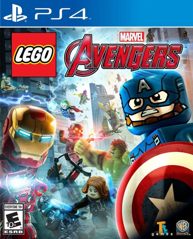 LEGO Marvels Avengers - PlayStation 4