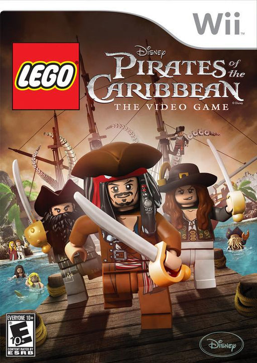 Lego Pirates of the Caribbean The Video Game - Wii