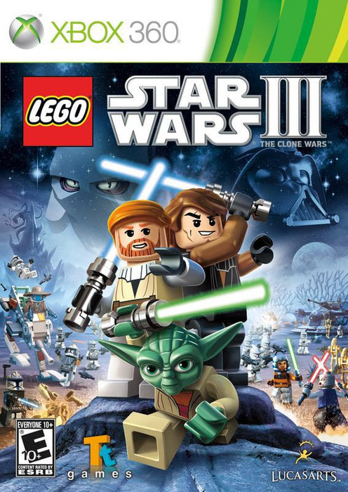LEGO Star Wars III The Clone Wars - Xbox 360