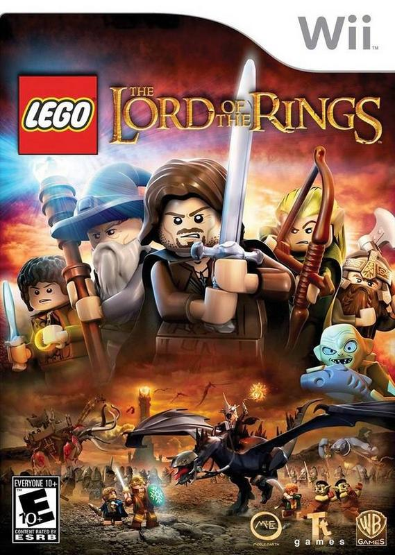 Lego The Lord of the Rings - Wii