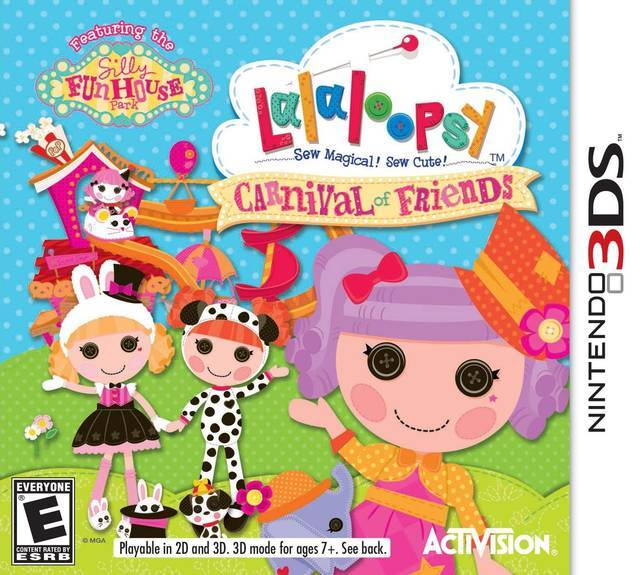 Lalaloopsy Carnival of Friends - Nintendo 3DS