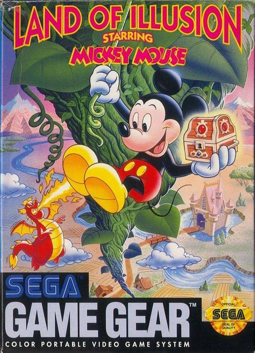 Land of Illusion Starring Mickey Mouse - Sega Game Gear